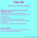 Strong Arms and Back Workout