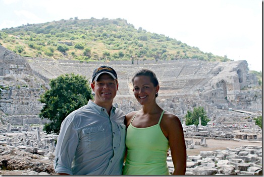Ashley and Bo at Ephesus