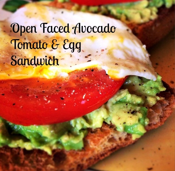 Avocado & Fried Egg Sandwich Recipe | A Healthy Happier Bear