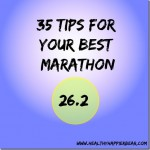 35 Tips for your best marathon