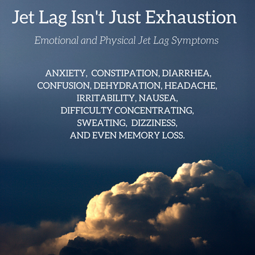 Jet Lag Isn't Just Exhaustion