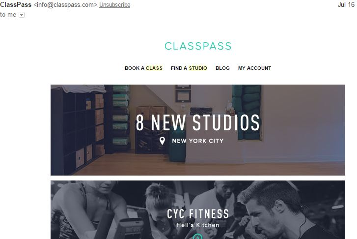 The smart Trick of Classpass Two Week Trial That Nobody is Talking About