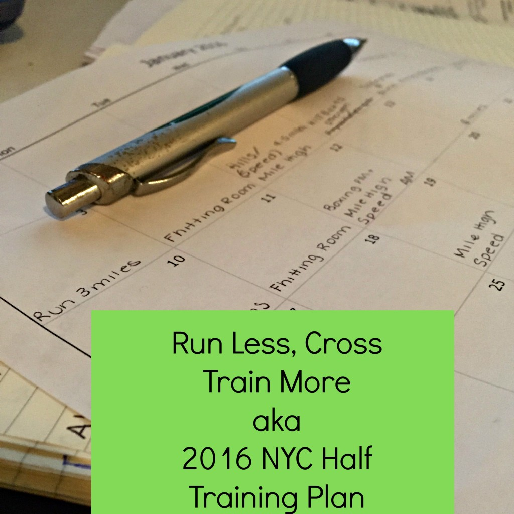 NYC Half Marathon training plan
