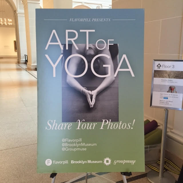 Art of Yoga sign