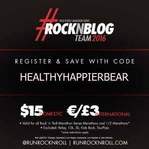 RockNBlog Discount From Healthy Happier Bear