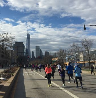 2016 NYC Half Marathon West Side Highway Views