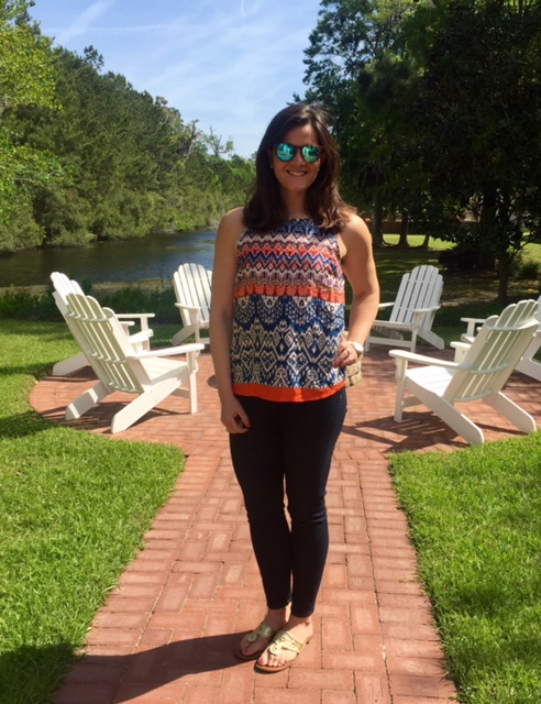Stitch Fix Bright Top