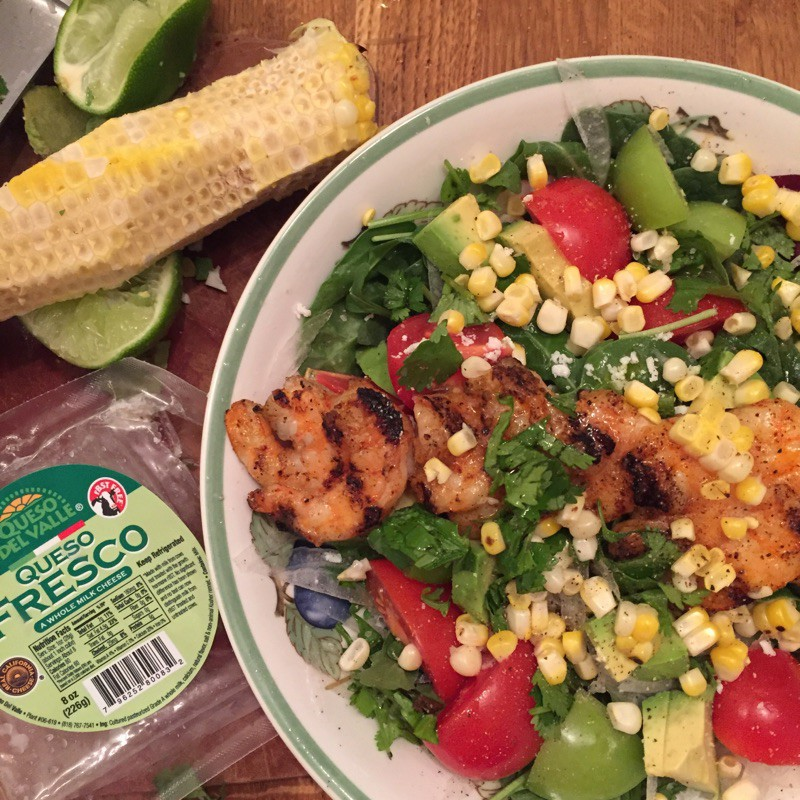 grilled mexican salad