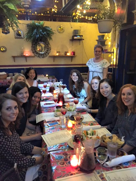 la palapa nyc blogger dinner