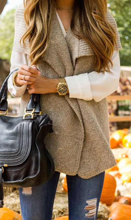 fall-fashion-chunky-knit-vest