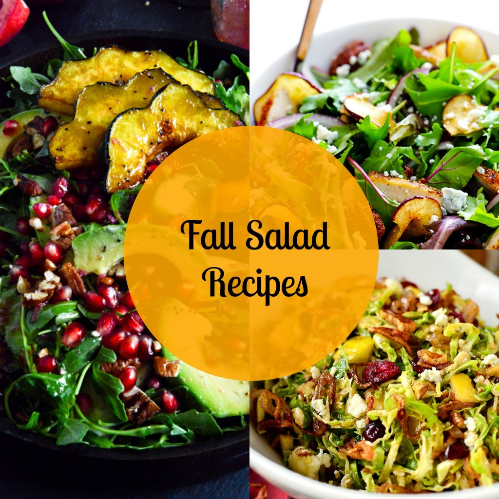 healthy fall salad recipes