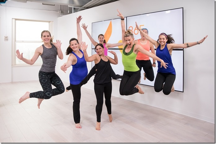 Daily Burn barre harmony group